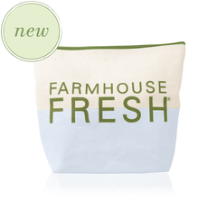 FHF Canvas Cosmetic Bag