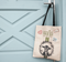 FHF Gifting Tote with Goat Print and Patches