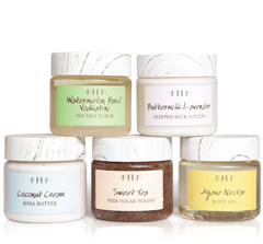FHF Bath & Body Product Samples