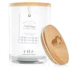 Fluffy Bunny® Candle with Wooden Lid