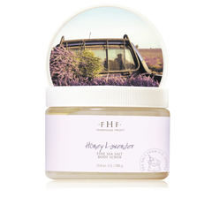 Honey Lavender Fine Sea Salt Body Scrub
