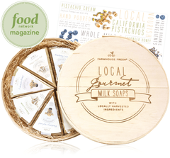 Local Gourmet Milk Soaps Set - Food Network Magazine Edition