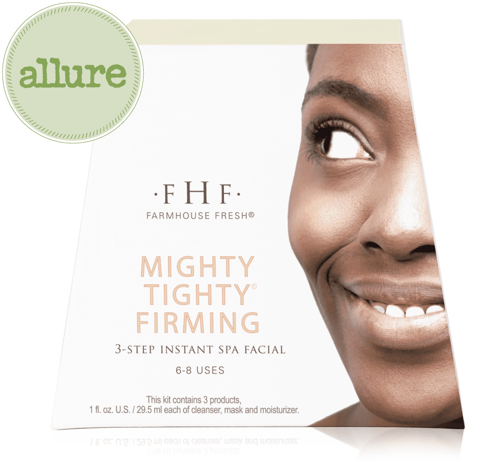 Farmhouse Fresh Mighty Tighty Firming 3 Step Instant Spa Facial