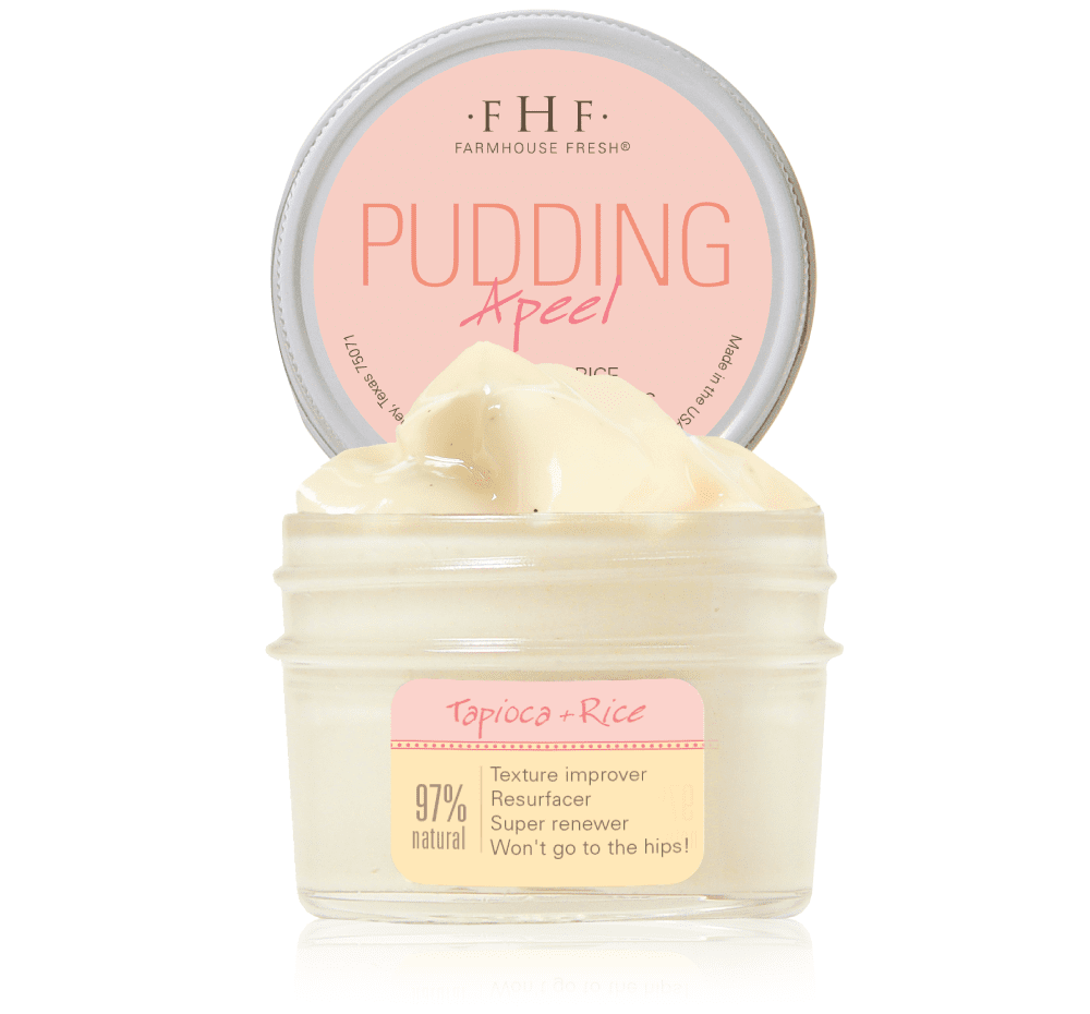 Pudding Apeel Tapioca Rice Active Fruit Glycolic Mask