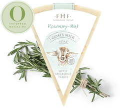Rosemary-Mint Goats Milk Soap