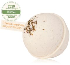 Rosemary-Mint Hemp-Infused Large Fizzing Bath Soak with Swellness™ Fortune