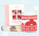 SPICED RUM & BUNNY SLIPPERS<BR>Cozy Sweater Candle