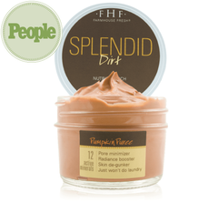Splendid Dirt® Nutrient Mud Mask with Organic Pumpkin Puree