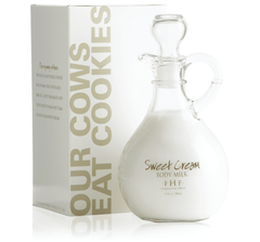 Sweet Cream Body Milk Lotion - Decorative Cruet