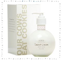 Sweet Cream Body Milk Lotion - Pump Top