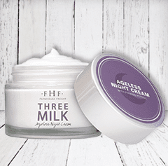 THREE MILK<br>Ageless Night Cream