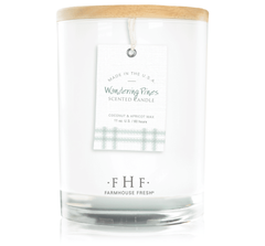 Wandering Pines Candle with Wooden Lid