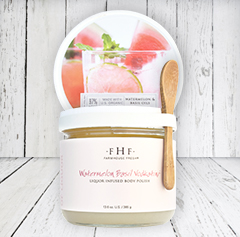 Watermelon Basil Vodkatini® Liquor Infused Body Polish