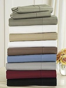 1000 Thread Count 100% Egyptian Cotton Olympic Queen Sheet Sets (Style: Stripe)