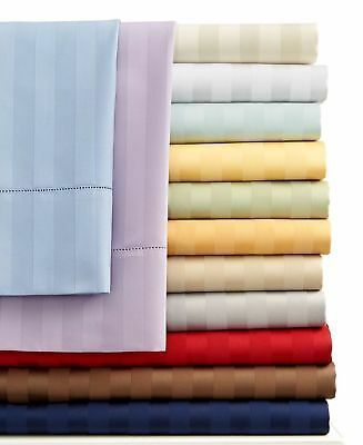 1200 Thread  Count 100% Egyptian Cotton Count Olympic Queen Sheet Sets (Style: Stripe)
