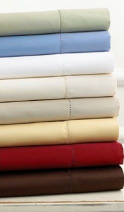 1500 Thread Count 100% Egyptian Cotton California King Bed Sheet Set (Style: Solid)