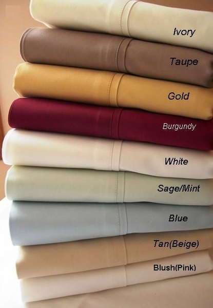 300 Thread Count Duvet Sets (Style: Solid)