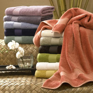 6 Piece Egyptian Cotton Combed Towel Set
