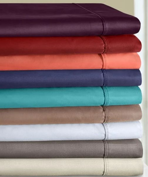 800 TC Rayon from Bamboo Cotton Sheet Sets (Style: Solid)