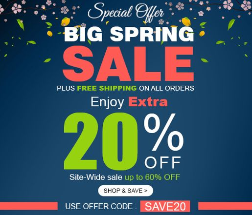 Special Annual Sale - Enjoy 15% Off Site-wide Sale of up-to 60% Off