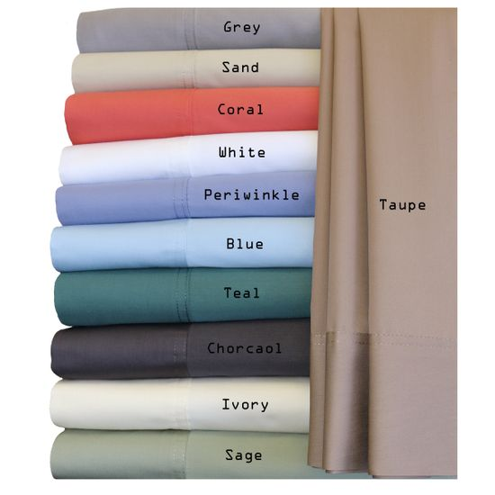 Hybrid Bamboo Collection California King Sheet Sets, Bamboo Cotton Blend