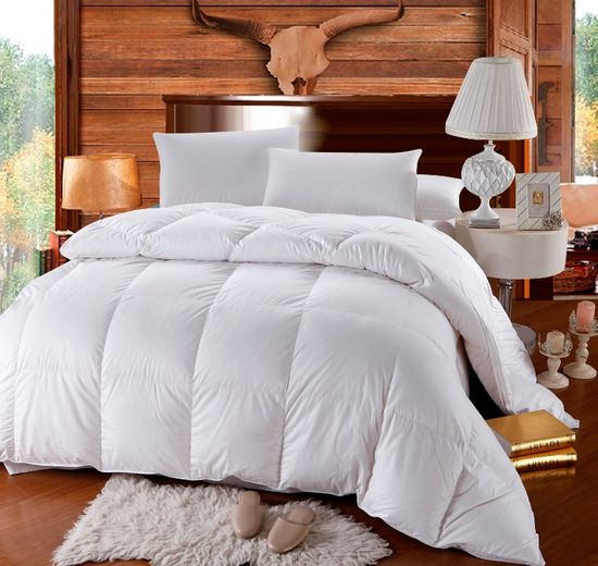 Luxurious Goose Down Alternative Comforter, All Year Comforter