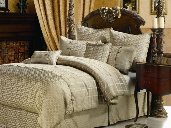 Oxford 8Piece Bed in a Bag Comforter set