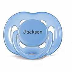 "<FONT COLOR=""blue"">AVENT Personalized Pacifiers Blue & Green (6-18m)</FONT>"