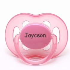 "<FONT COLOR=""blue"">AVENT Personalized Pacifiers Pink & Orange (6-18m)</FONT>"
