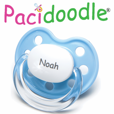 <FONT COLOR=>PERSONALIZED </FONT> Pacifiers - NUK Shape