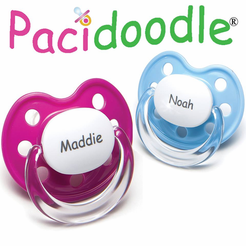 Pick 2 - NUK Shaped Personalized Pacifiers