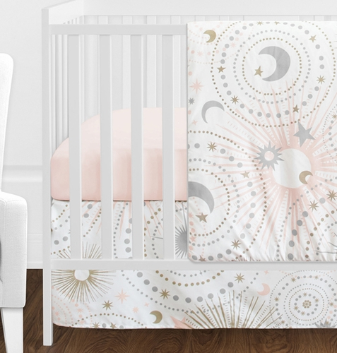 11 Pc Blush Pink Gold Grey And White