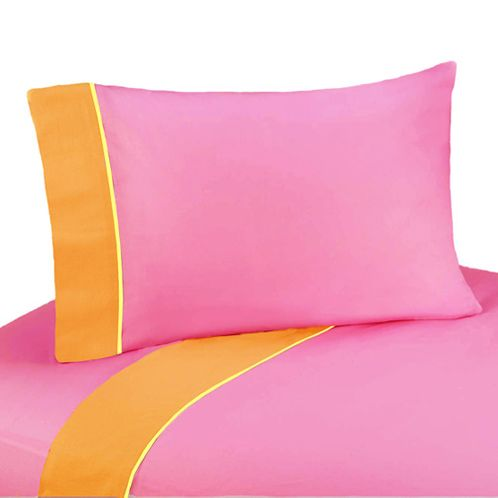 3 pc Twin Sheet Set for Groovy Bedding Collection - Click to enlarge