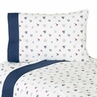 3 pc Twin Sheet Set for Nautical Nights Sailboat Bedding Collection