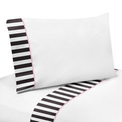 3 pc Twin Sheet Set for Paris Bedding Collection