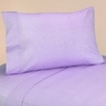 3 pc Twin Sheet Set for Purple and Brown Mod Dots Bedding Collection