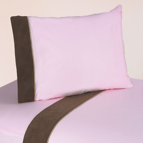 3 pc Twin Sheet Set for Soho Pink Bedding Collection - Click to enlarge