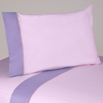 3 pc Twin Sheet Set for the Pink and Purple Flower Bedding Collection