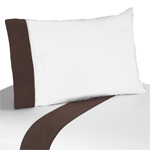4 pc Queen Sheet Set for Designer Dot Modern Bedding Collection by Sweet Jojo Designs