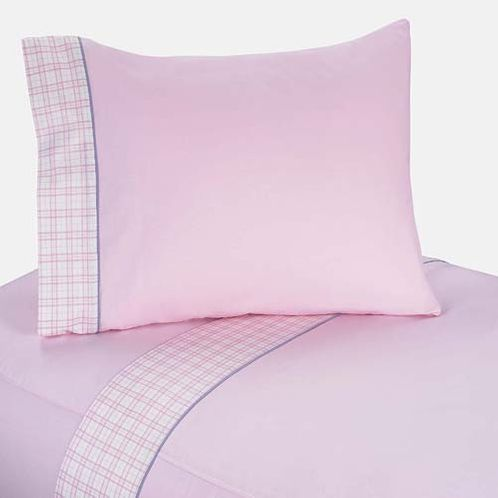 4 pc Queen Sheet Set for Pretty Pony Bedding Collection - Click to enlarge