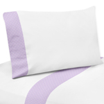 4 pc Queen Sheet Set for Suzanna Bedding Collection by Sweet Jojo Designs