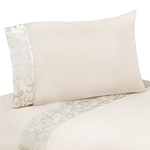 4 pc Queen Sheet Set for Victoria Bedding Collection by Sweet Jojo Designs