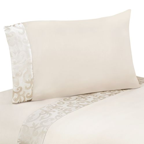4 pc Queen Sheet Set for Victoria Bedding Collection by Sweet Jojo Designs - Click to enlarge