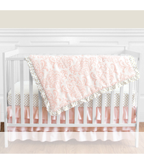 4 Piece Bumperless Crib Sets