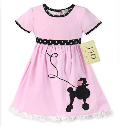 50's Vintage Poodle Dress Halloween Costume or Dress Up Outfit by Sweet Jojo Designs - Click to enlarge