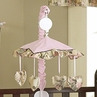 Abby Rose  Brown and Pink Crib Musical Mobile