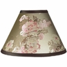 Abby Rose Brown and Pink Lamp Shade
