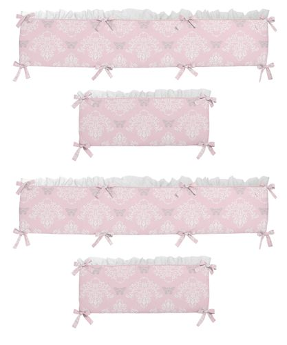 Alexa Collection Crib Bumper by Sweet Jojo Designs - Click to enlarge