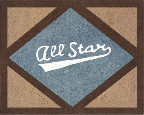All Star Sports Accent Floor Rug - Click to enlarge