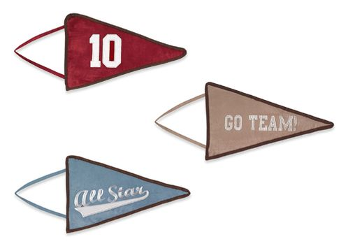 All Star Sports Wall Hanging Accessories by Sweet Jojo Designs - Click to enlarge